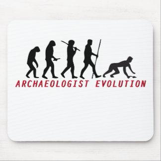 archaeologist evolution mousepad