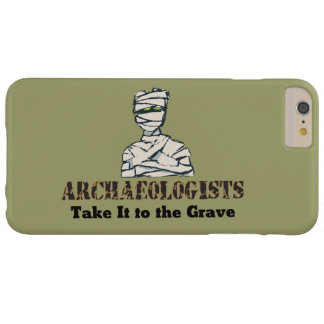 Archaeologist Grave Barely There iPhone 6 Plus Case