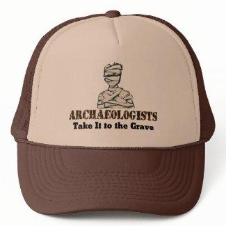 Archaeologist Grave hat