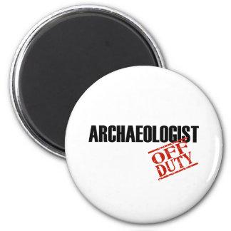 Archaeologist Light Magnet