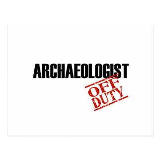 Archaeologist Light Postcard