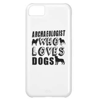 archaeologist Who Loves Dogs Case For iPhone 5C