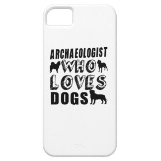 archaeologist Who Loves Dogs iPhone SE/5/5s Case