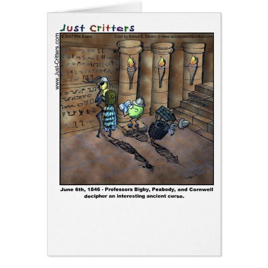 Archaeologists Card