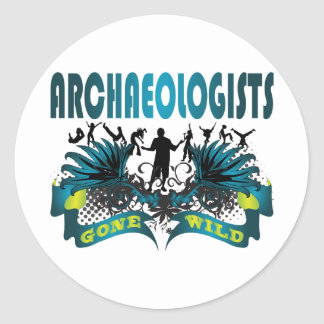 Archaeologists Gone Wild Sticker