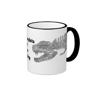 Archaeologists will date anything ringer mug