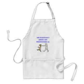 archaeology adult apron