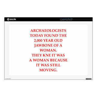 archaeology decal for laptop