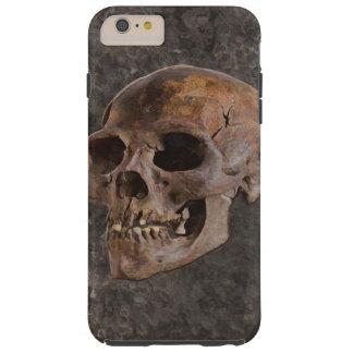 Archaeology II - Skull on Stone-effect Background Tough iPhone 6 Plus Case