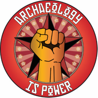 Archaeology Is Power Photo Cutout