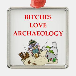 archaeology joke christmas tree ornaments