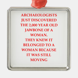 ARCHAEOLOGY METAL ORNAMENT