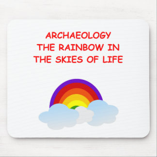 archaeology mouse pad