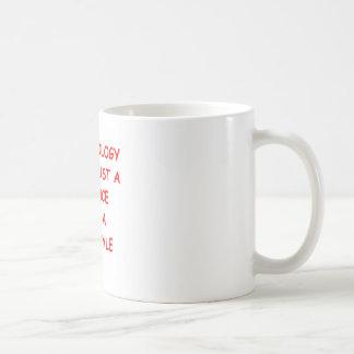 archaeology classic white coffee mug