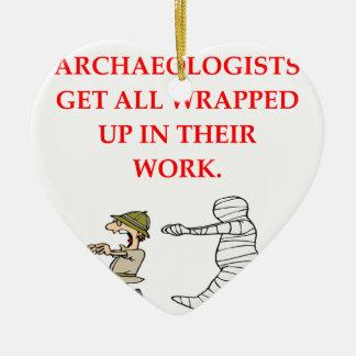 archaeology ornament