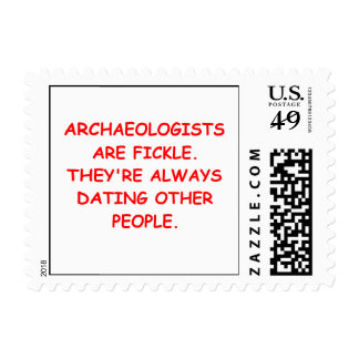 archaeology stamp
