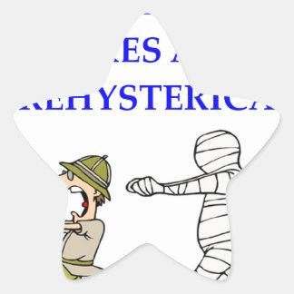archaeology star sticker