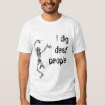 Archaeology  t shirt