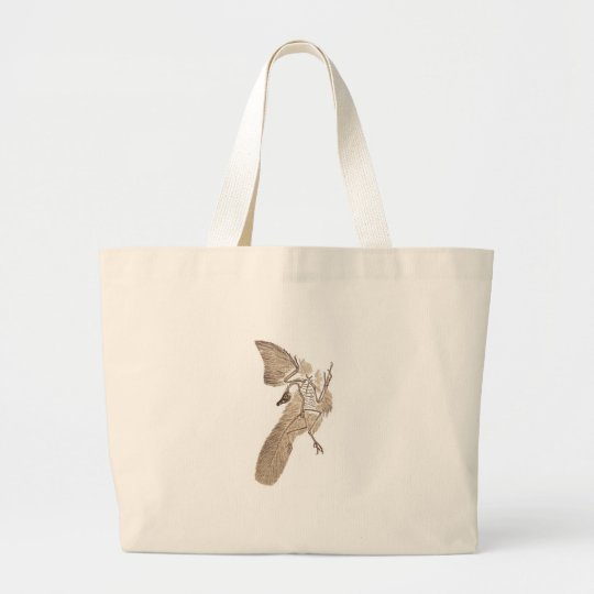 Archaeopteryx Large Tote Bag