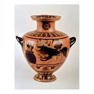 Archaic Ionian Hydria Postcard