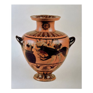Archaic Ionian Hydria Poster