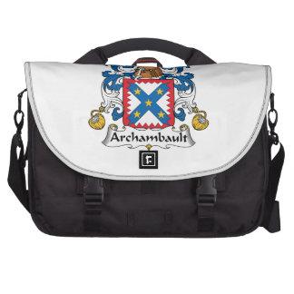 Archambault Family Crest Commuter Bag