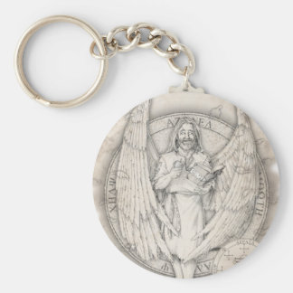 Archangel Azrael Keychain