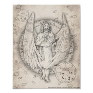 Archangel Azrael Print