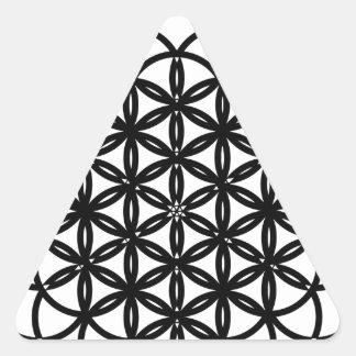 Archangel Cassiel Delight Triangle Sticker