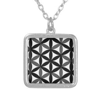 Archangel Cassiel Square Pendant Necklace
