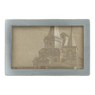 Archangel Cathedral in Nizhny Novgorod Rectangular Belt Buckle