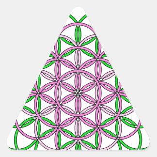 Archangel Chamuel Delight Triangle Sticker
