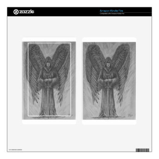 Archangel Decal For Kindle Fire