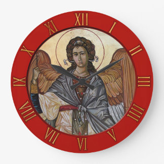Archangel Gabriel Large Clock