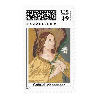 Archangel Gabriel Messenger Postage Stamp