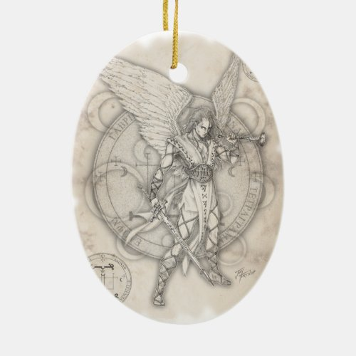 Archangel Gabriel Ornament