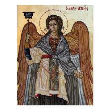 Archangel Gabriel Postcard