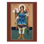 Archangel Gabriel Prayer Card Post Card
