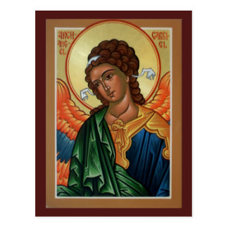 Archangel Gabriel Prayer Card Post Cards