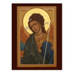 Archangel Gabriel Prayer Card Postcard