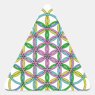 Archangel Iophiel Delight Triangle Sticker