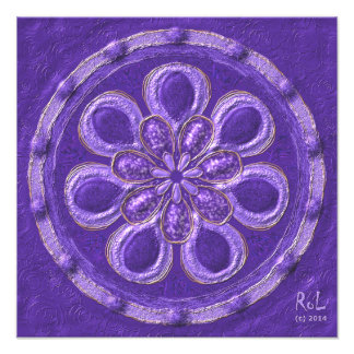 "Archangel Mandala "" Raphael "" as photo printing ca"