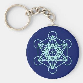 Archangel Metatron Sacred Geometry Keychain
