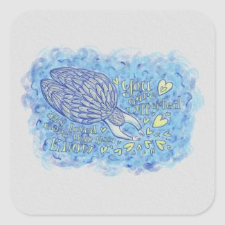 Archangel Michael Art Custom Decal Stickers