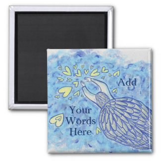Archangel Michael Art Custom Fridge Magnets
