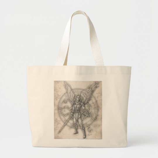 Archangel Michael Book Tote