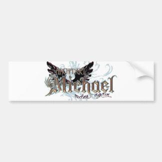 Archangel Michael Car Bumper Sticker