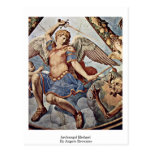 Archangel Michael By Angelo Bronzino Postcard