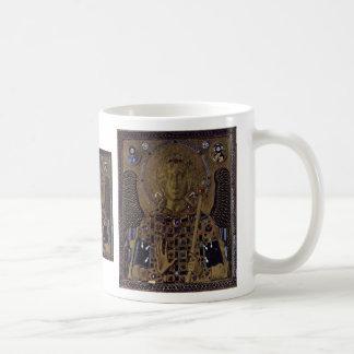Archangel Michael By Meister Der Ikone Des Erzenge Classic White Coffee Mug
