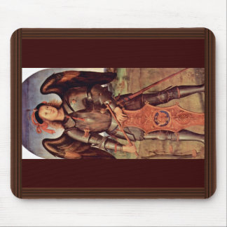 Archangel Michael By Perugino Pietro (Best Quality Mouse Pad
